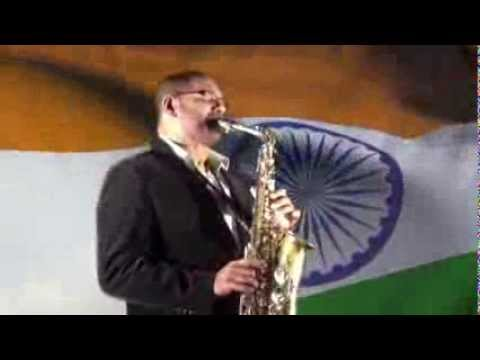 Jana Gana Mana - Indian National Anthem on Saxophone