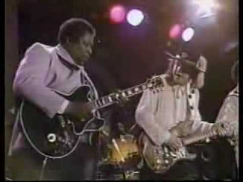 Stevie Ray Vaughan, BB King&Albert Collins - New Orleans 22 04 1988 Texas Flood