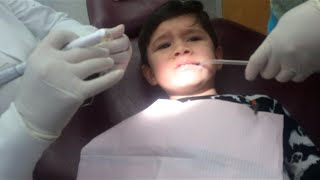 TODDLERS FIRST TIME AT THE DENTIST!