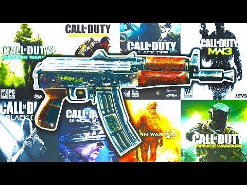 The Evolution of The AK-74u in Call of Duty...