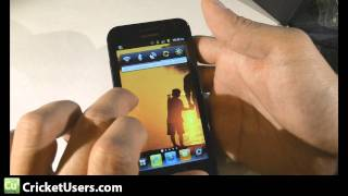 CricketUsers.com - Cricket Huawei Mercury M886 Detailed Look