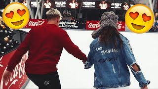 ROMANTIC ICE SKATING DATE