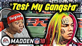"Madden 18 Trash Talk Game | ""Jmell You A$$ Bum"" 