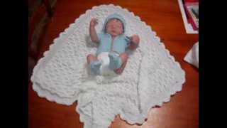 Knitted Baby Shawls