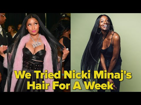 We Tried Nicki Minaj's Hair For A Week