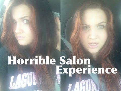 My HORRIBLE Salon Experience and My New Hair!