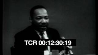 Martin Luther King, Jr., on 'Face the Nation'