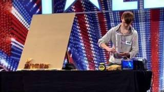 Nathan Wyburn - Britain's Got Talent 2011 audition - itv.com/talent - UK Version