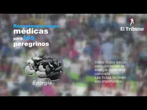 Recomendaciones médicas para los peregrinos