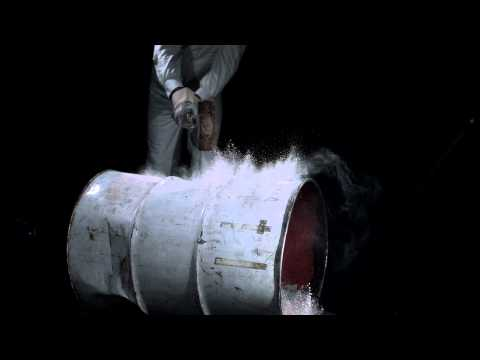 Vibration. See the unseen: Oil Drum at 1,000 frames per second.