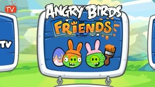 Angry Birds Friends - Easter Tournament All Levels - ANGRY BIRDS Gameplay