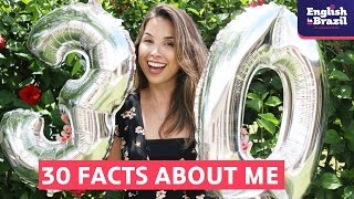 30 FACTS ABOUT ME | Carina Fragozo (Legendado)