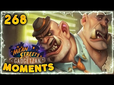 Don Han'Cho Sick Combo!! | Hearthstone Gadgetzan Daily Moments Ep. 268 (Funny and Lucky Moments)