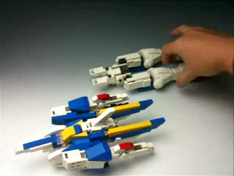 Playing with LEGO : V2 GUNDAM transformation