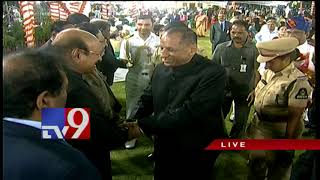 Governor Narasimhan participates in Independence Day celebrations @ Raj Bhavan in Hyderabad
