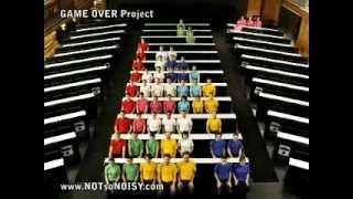 Thumb Video del tetris humano, los geeks vuelven al ataque