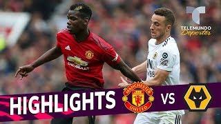Manchester United vs. Wolverhampton: 1-1 Goals & Highlights | Premier League | Telemundo Deportes