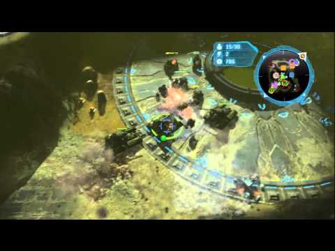 Halo Wars: Double Anders on Crevice