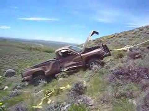 Wrecked Dodge