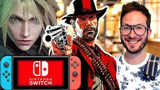 Final Fantasy VII Remake, Resident Evil 2 sur Switch ? Soul Calibur 6 le mode solo...