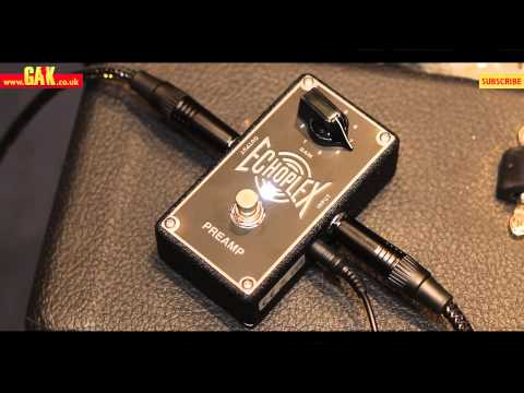 Jim Dunlop - Echoplex Preamp Demo at GAK