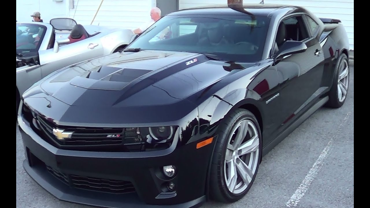 2012 Zl1 Camaro Youtube