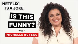 "Michelle Buteau Decides ""Is This Funny?"" 