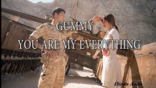 Gummy - You Are My Everything Lyric Video || Dinda Aulia