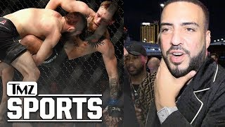 French Montana Won A Crazy Amount of Money On Khabib | TMZ Sports