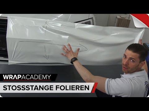 STOßSTANGE FOLIEREN - Technik