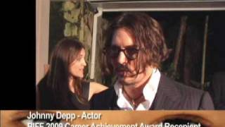 Johnny Depp and Sir Sean Connery interviews at Bahamas Film Festival 2009