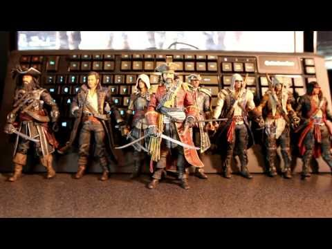 McFarlane Toys Assassin Creed IV: Black Flag Black Bart Figure Review (Amazon Exclusive)