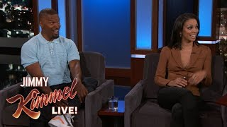 Jamie Foxx & His Daughter on Father