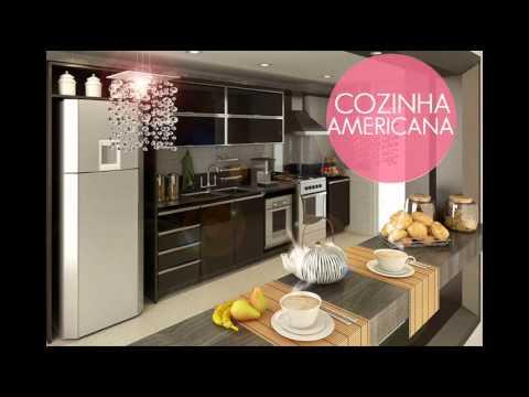 os melhores modelos de cozinhas americanas