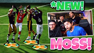 PLAYING THE NEW MOSS MINI GAME WITH QUARTERBACKS ONLY!!