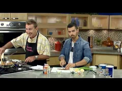 Joe Jonas Cooks On Fox 8 New Day Cleveland