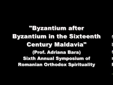 Byzantium after Byzantium in the Sixteenth Century Maldavia