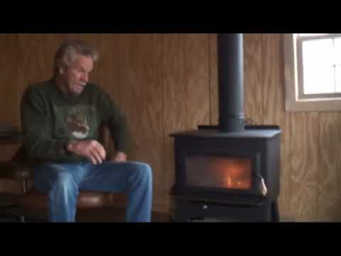 Our New Wood Burning Stove! With Don Mealey