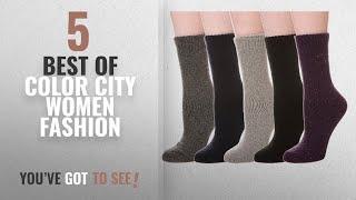 Color City Women Fashion [2018 Best Sellers]: Color City Women's Super Thick Soft Knit Wool Warm