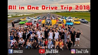 ZauZ Vlog EP.18 All in One Day Trip 2018