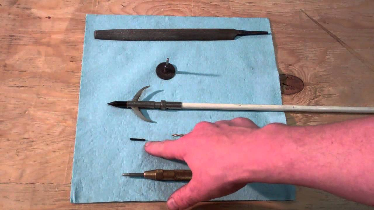 Rock Solid Concrete >> How to Install a Fish Arrow Point (so it never comes off ...