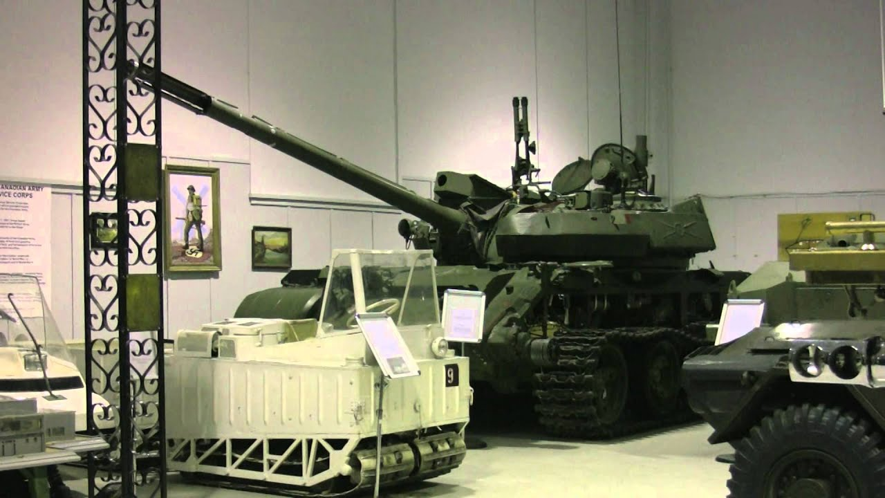 CFB Borden Military Museum - YouTube