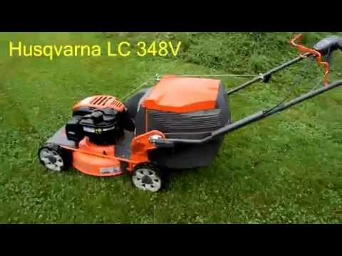 Husqvarna LC 348V Review (1080p 60fps)