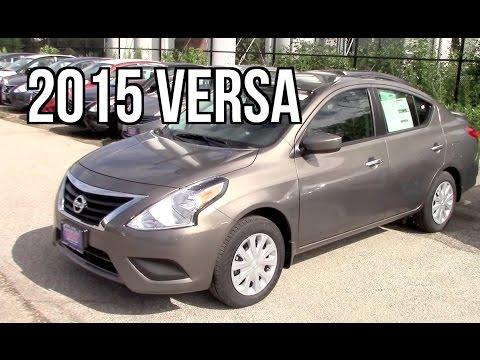 2015 Nissan Versa Sedan SV Review - YouTube