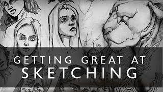 Getting GREAT At Sketching - Try This One Thing