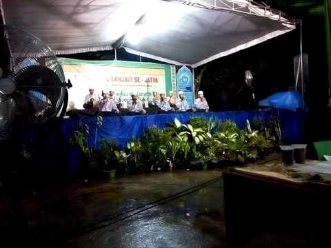 Anwarul Muhibbin Bimadihika & Roqqot 'aina Di MAN Mojoagung (Trouble Mikrofone)