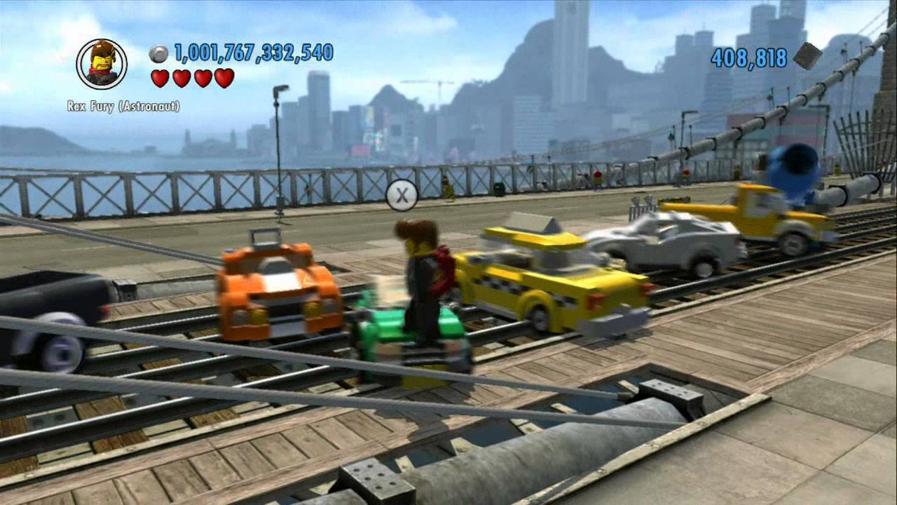 LEGO City Undercover - Explosive Fun With Locomotives - YouTube