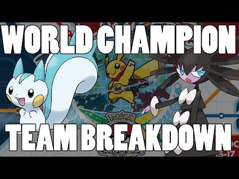 Pokemon Masters World Champion Se Jun Park Team Breakdown! Pachirisu OP!