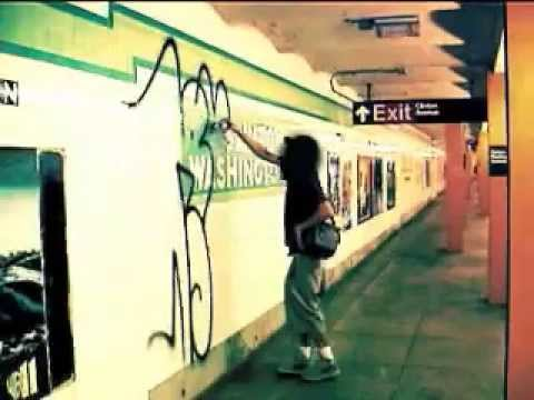 New York graffiti Video