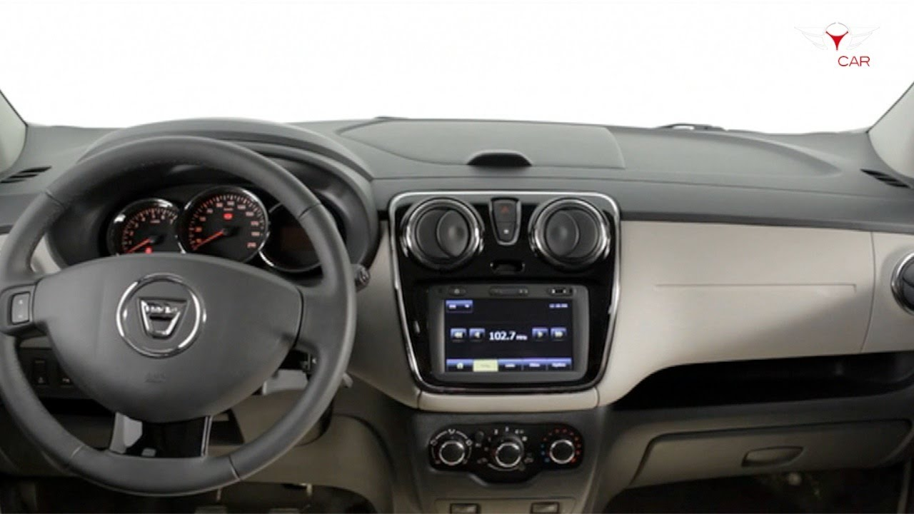 2013 Dacia Lodgy - Interior
